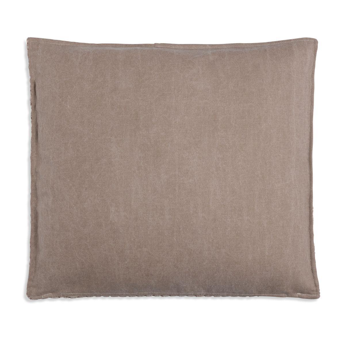 knit factory 1251253 kussen 50x50 jack marron beige 2