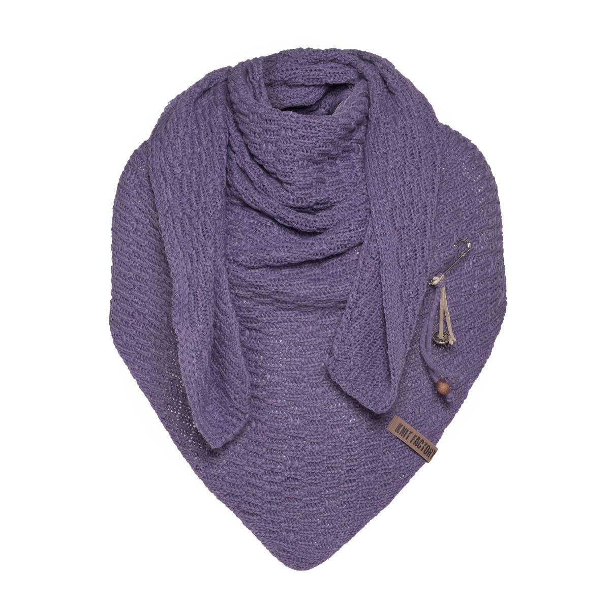 jaida omslagdoek violet