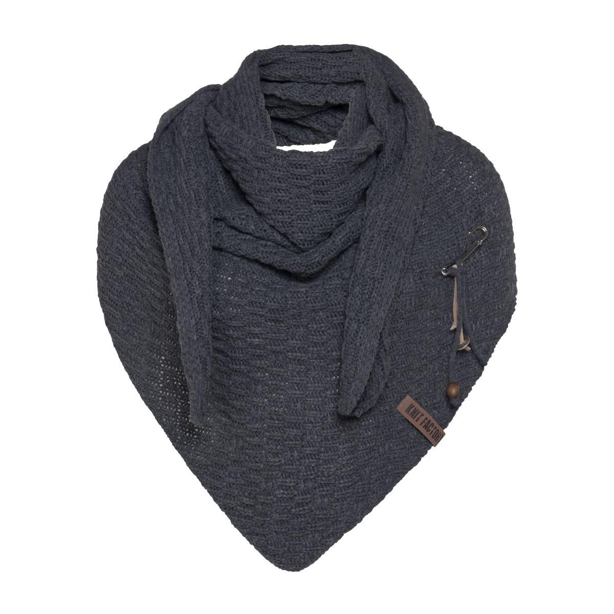 jaida triangle scarf anthracite