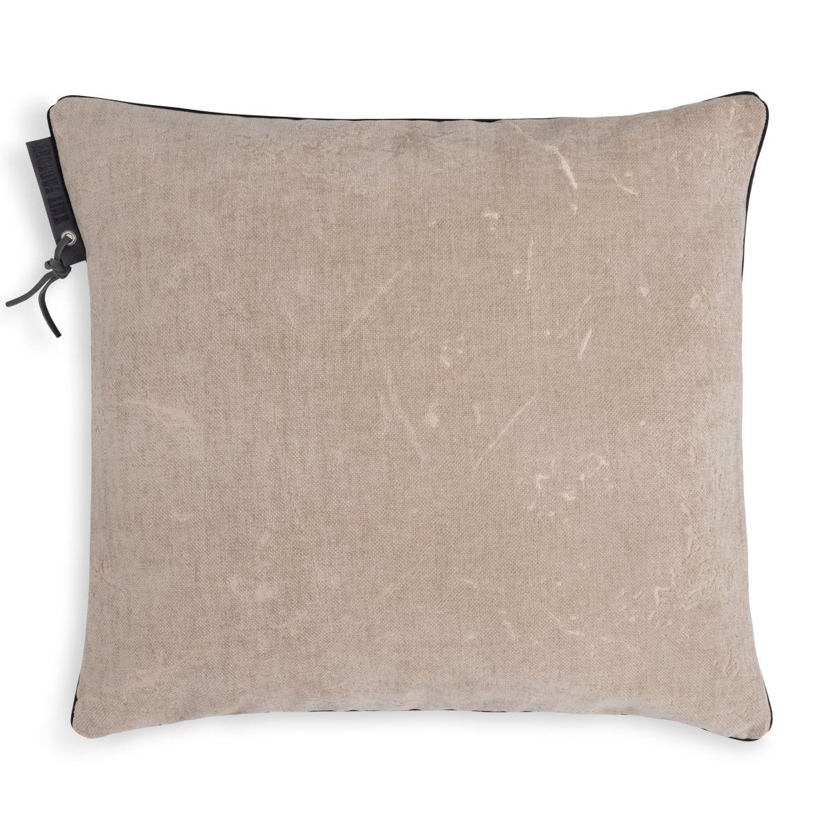 james cushion beige 50x50