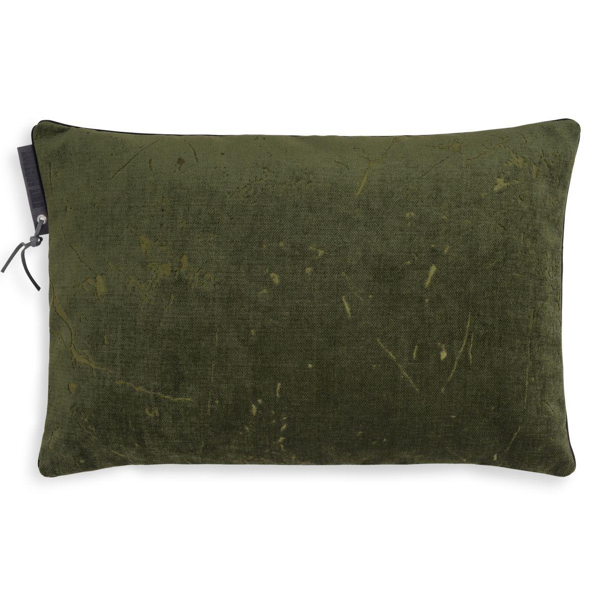 james cushion green 60x40