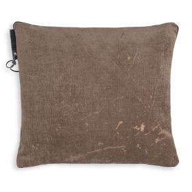 James Cushion Taupe - 50x50