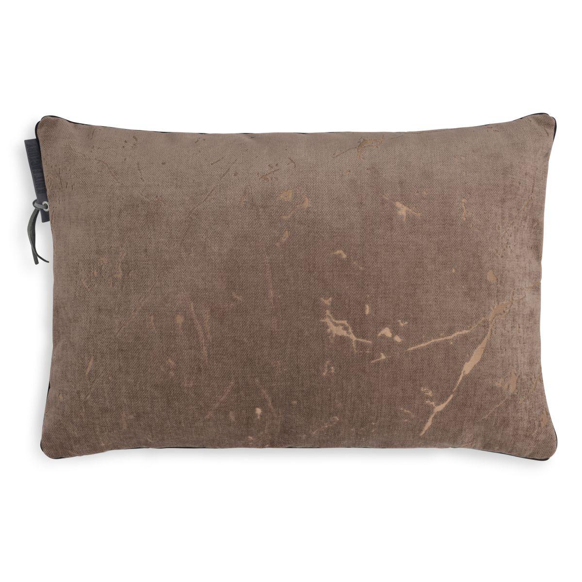 james cushion taupe 60x40