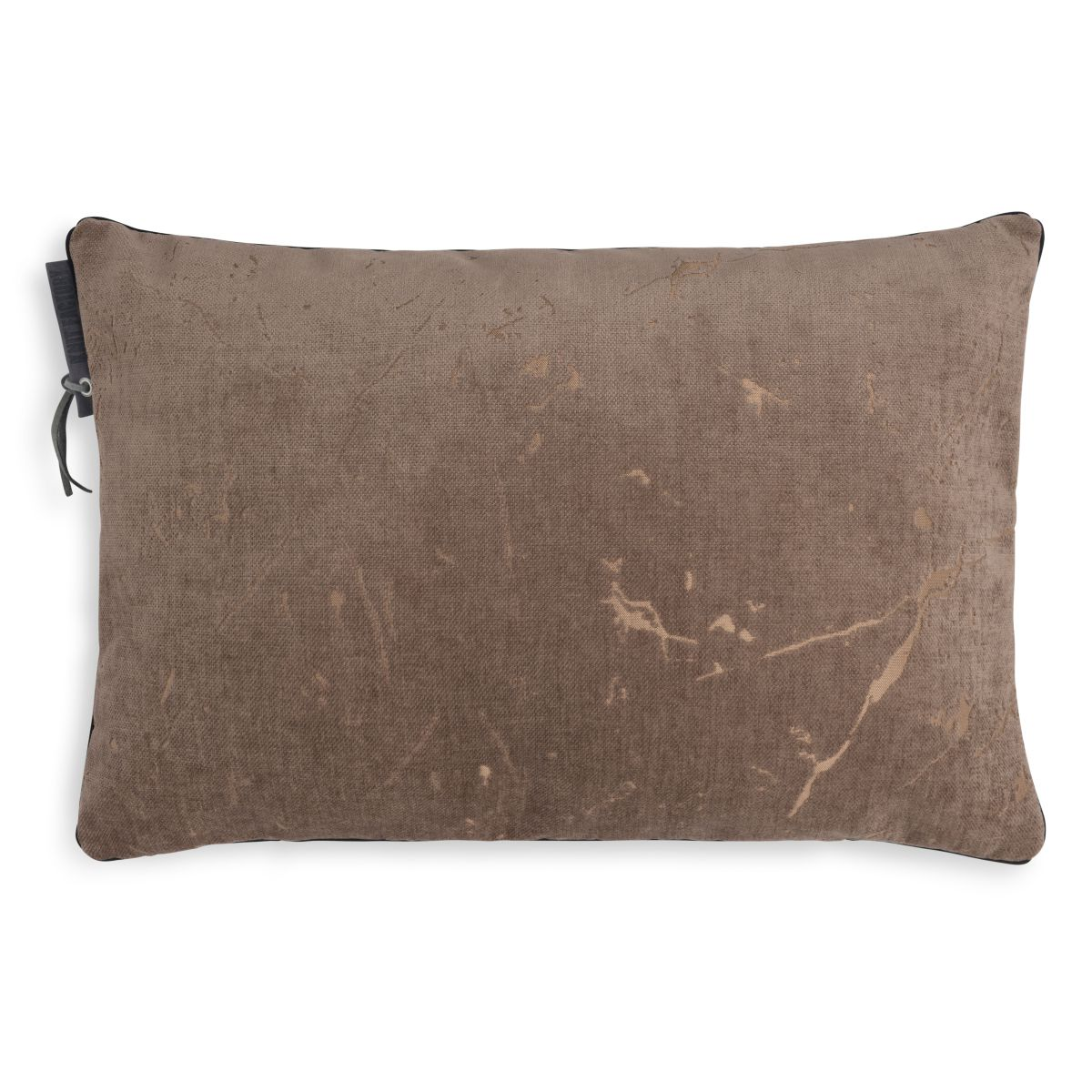knit factory 1421329 james kussen 60x40 taupe 1