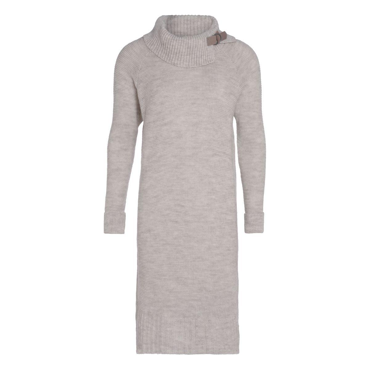 jamie gebreide jurk beige 3638