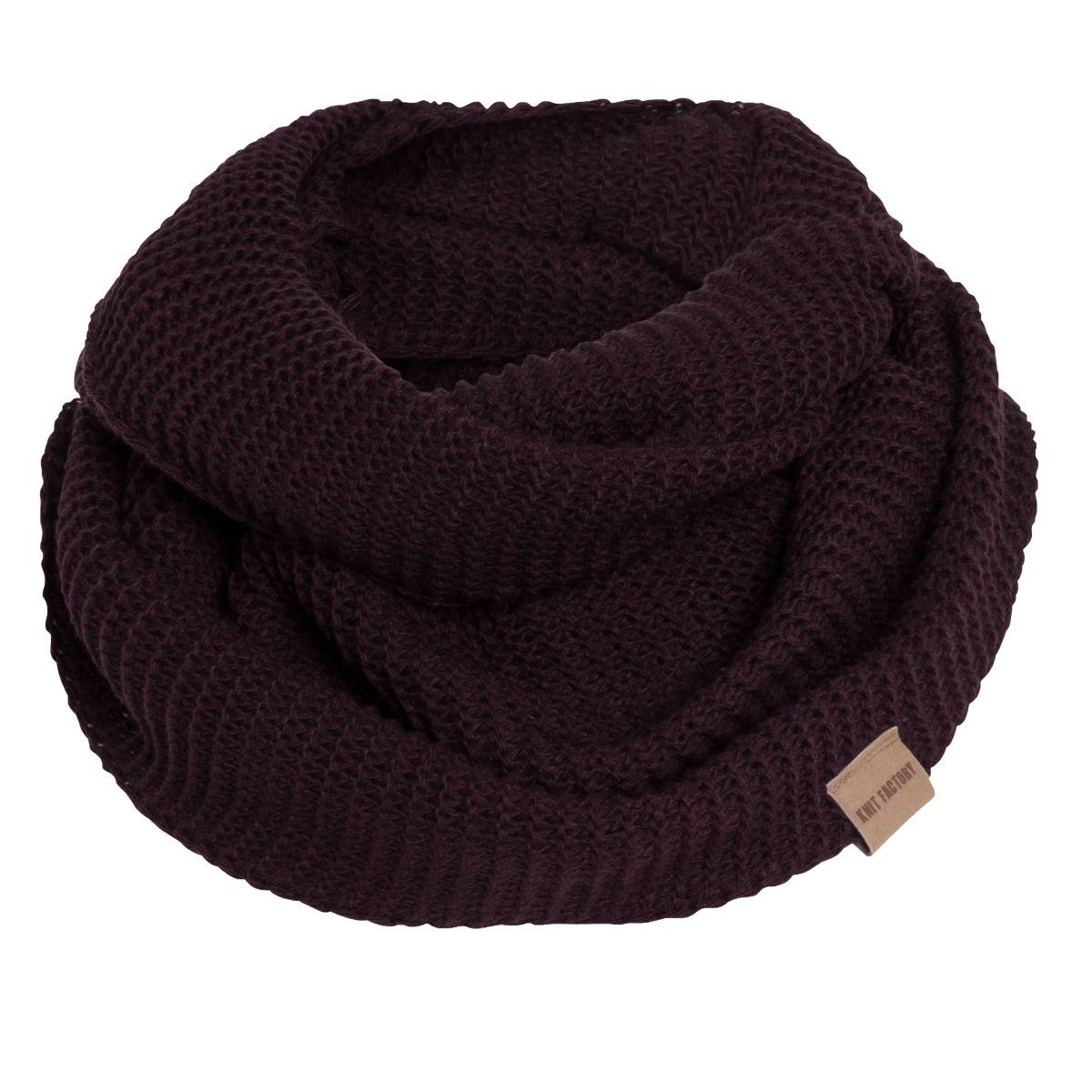 jamie infinity scarf aubergine