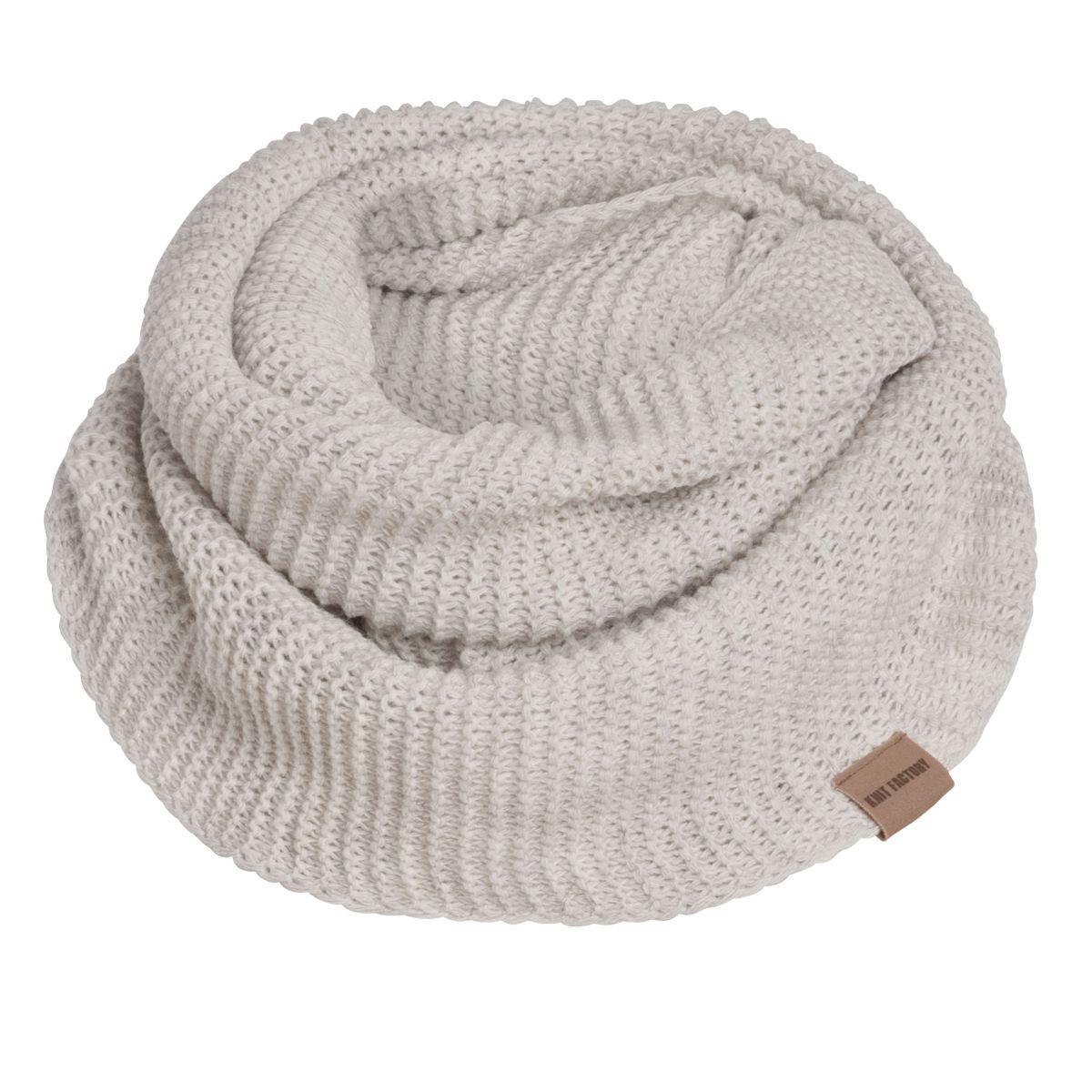 jamie infinity scarf beige