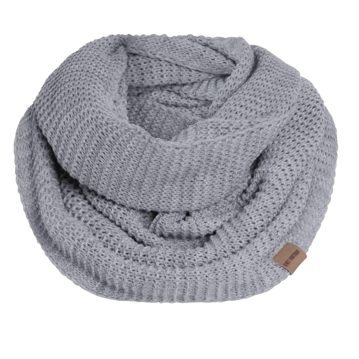 jamie infinity scarf light grey