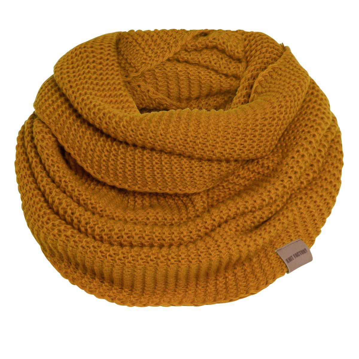 jamie infinity scarf ochre