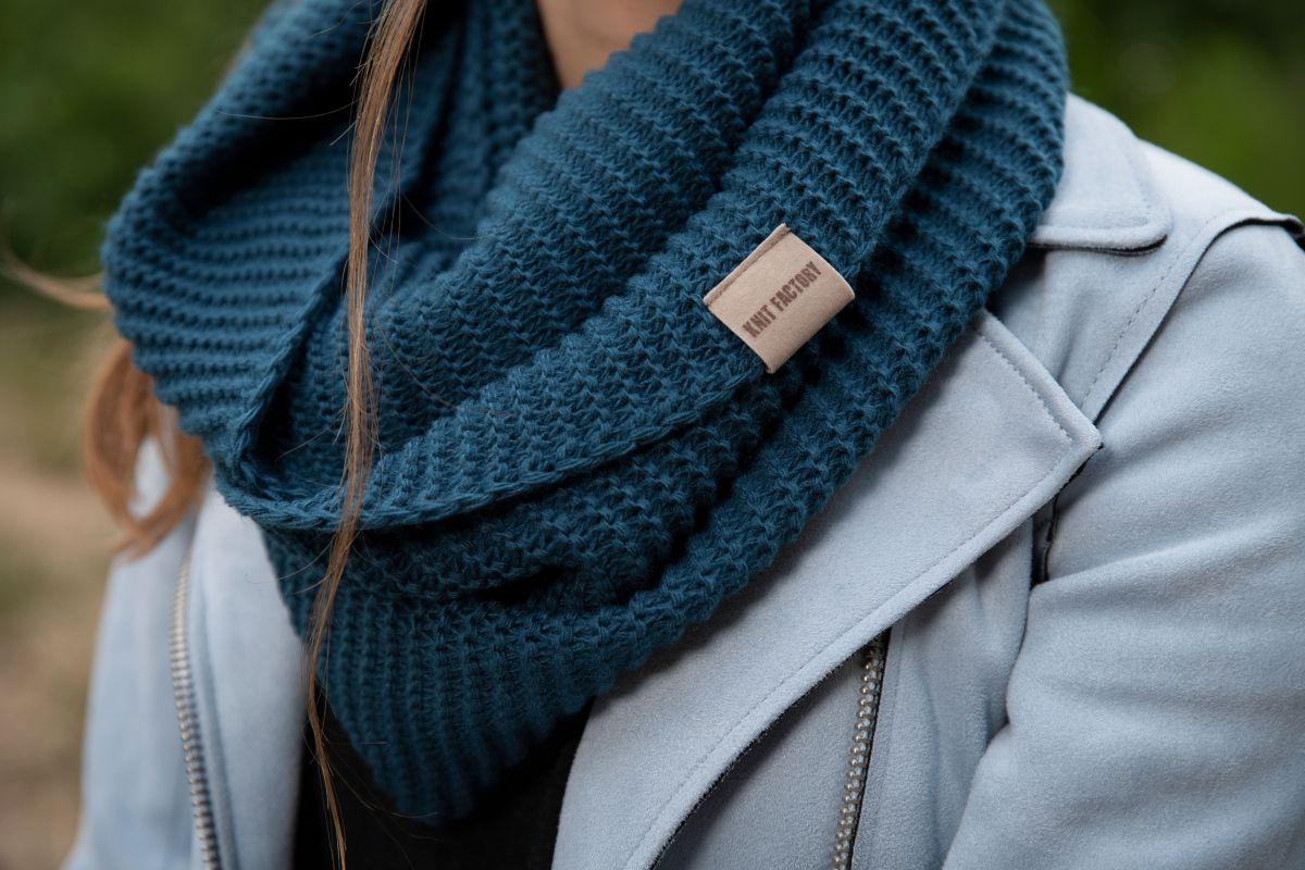 jamie infinity scarf petrol