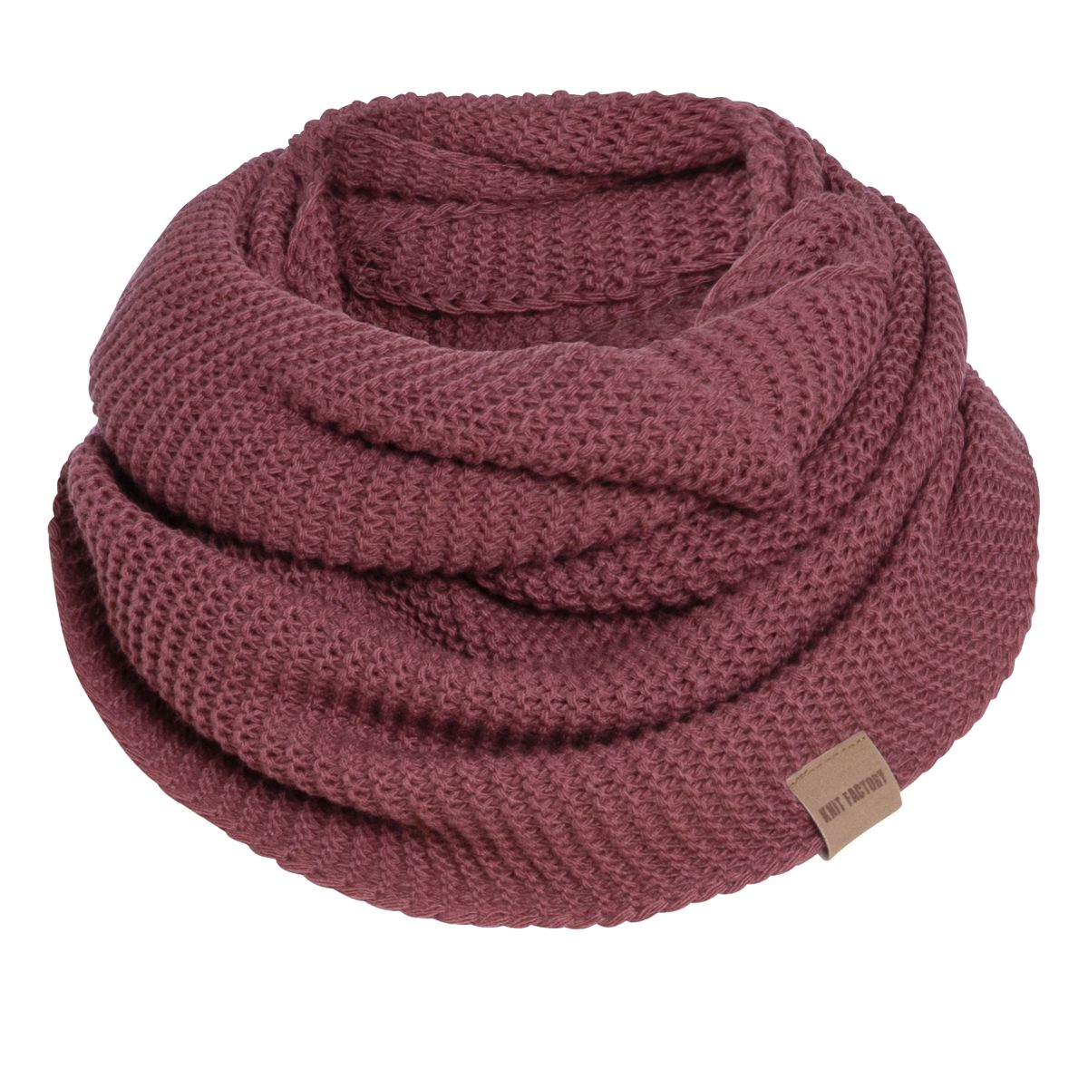 jamie infinity scarf stone red