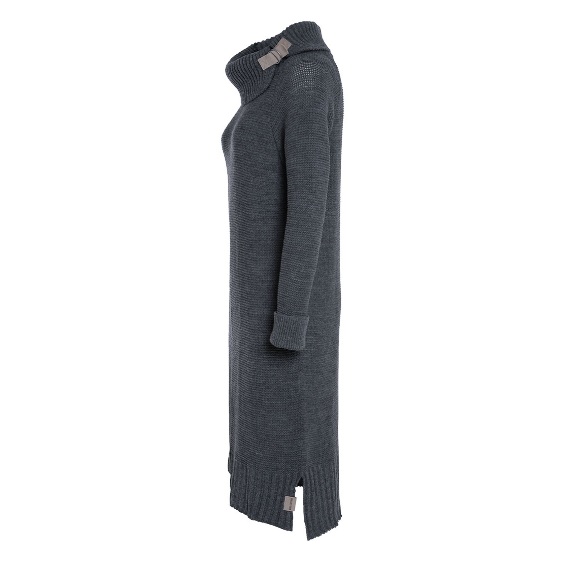 jamie knitted dress anthracite 3638