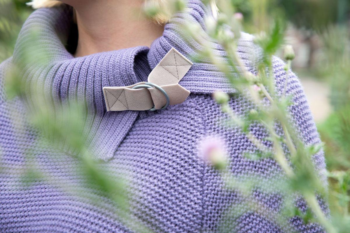 jamie knitted dress ochre 4042