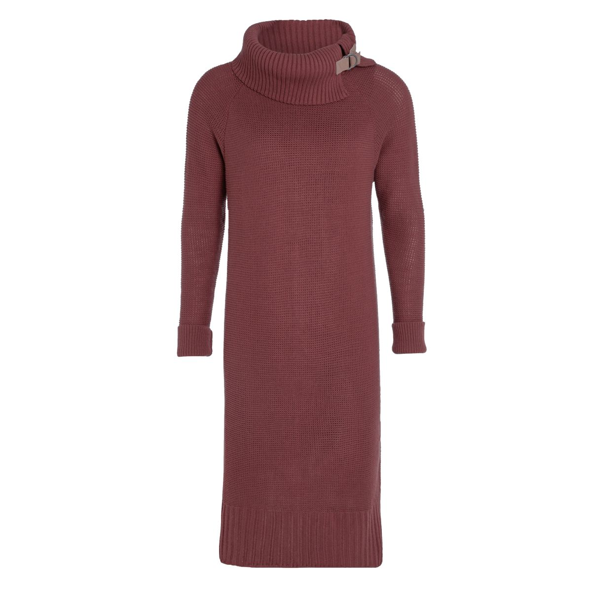jamie knitted dress stone red 3638