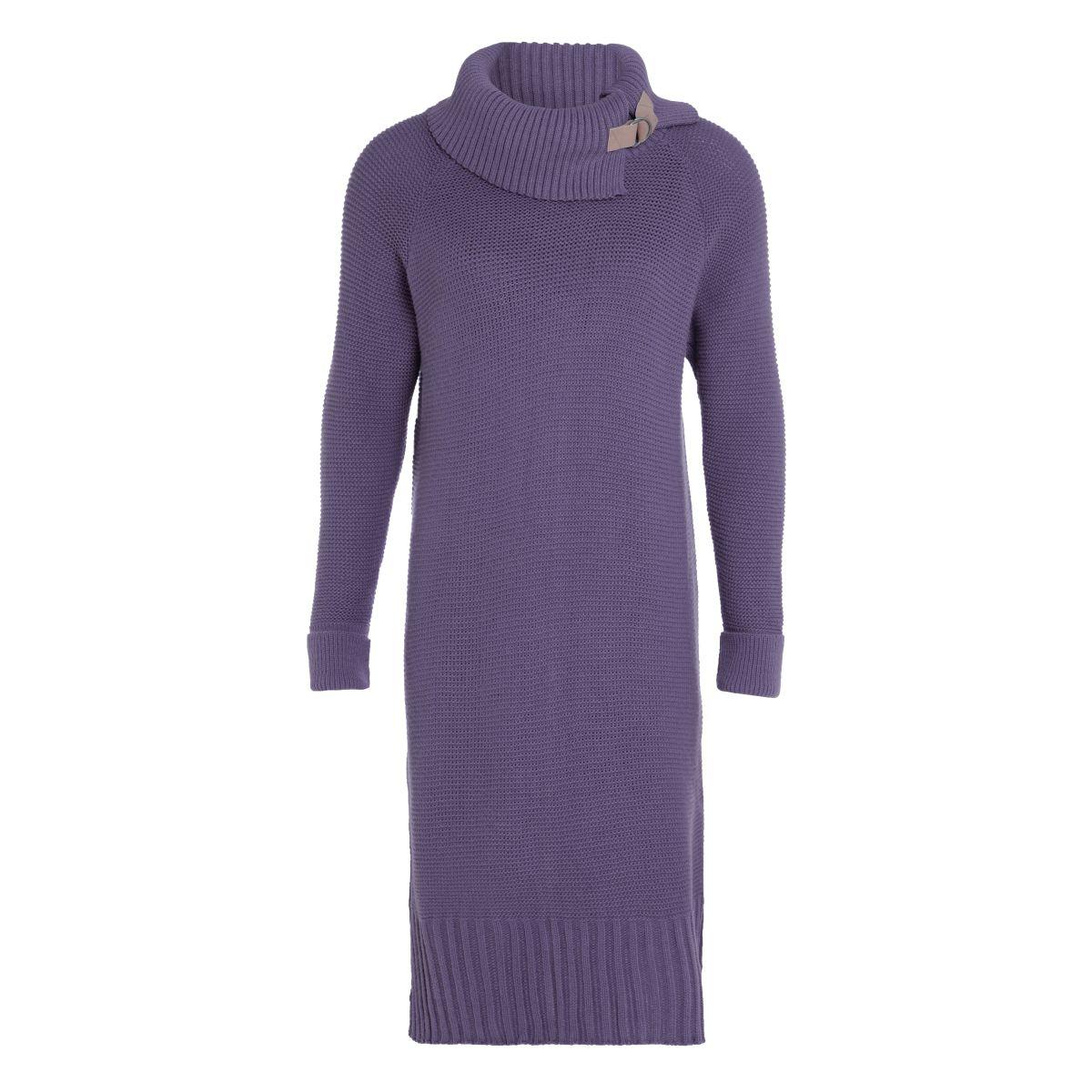 jamie knitted dress violet 3638