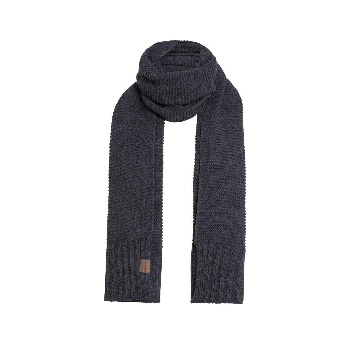 jamie scarf anthracite