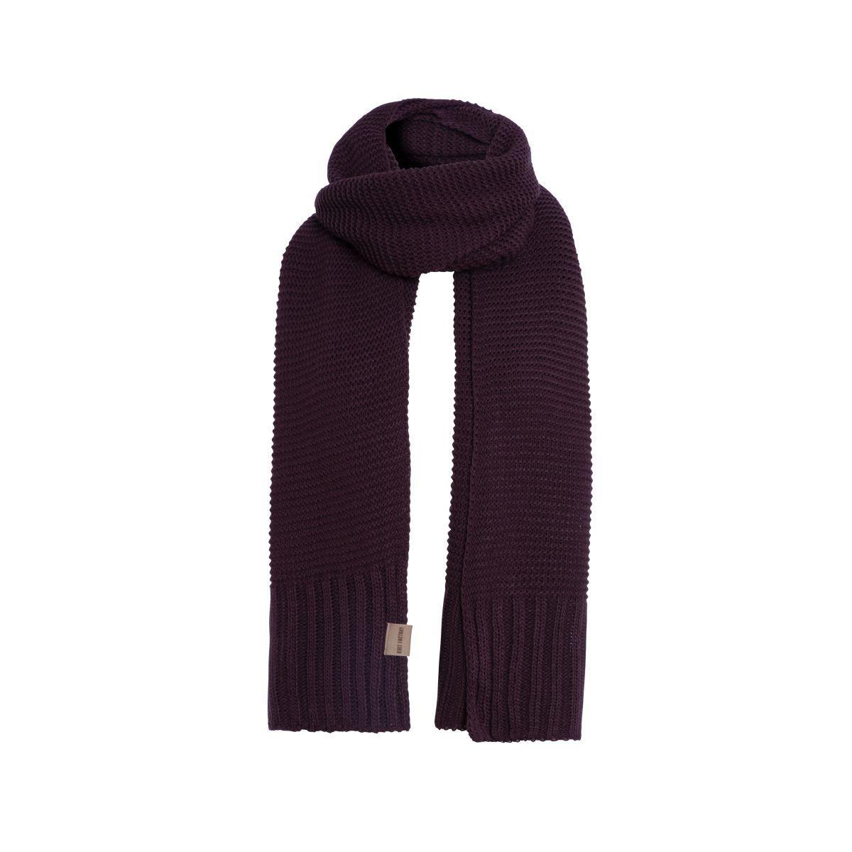 jamie scarf aubergine