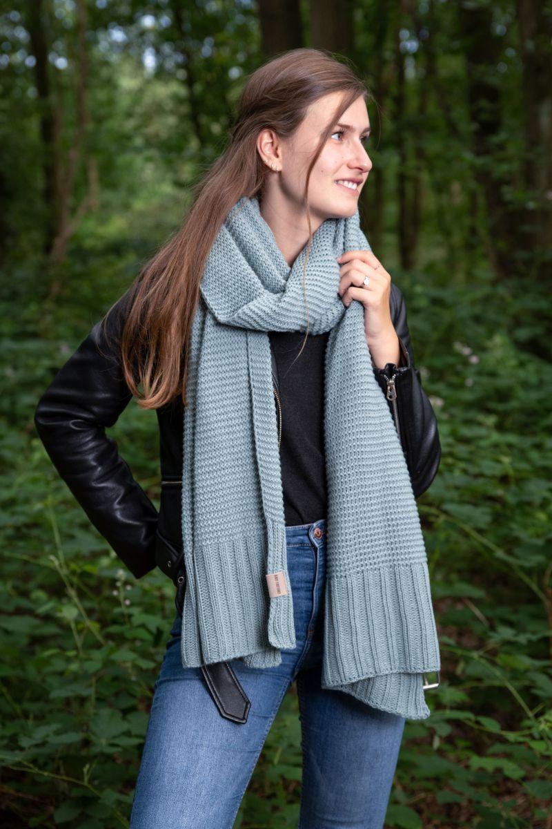 jamie scarf stone green