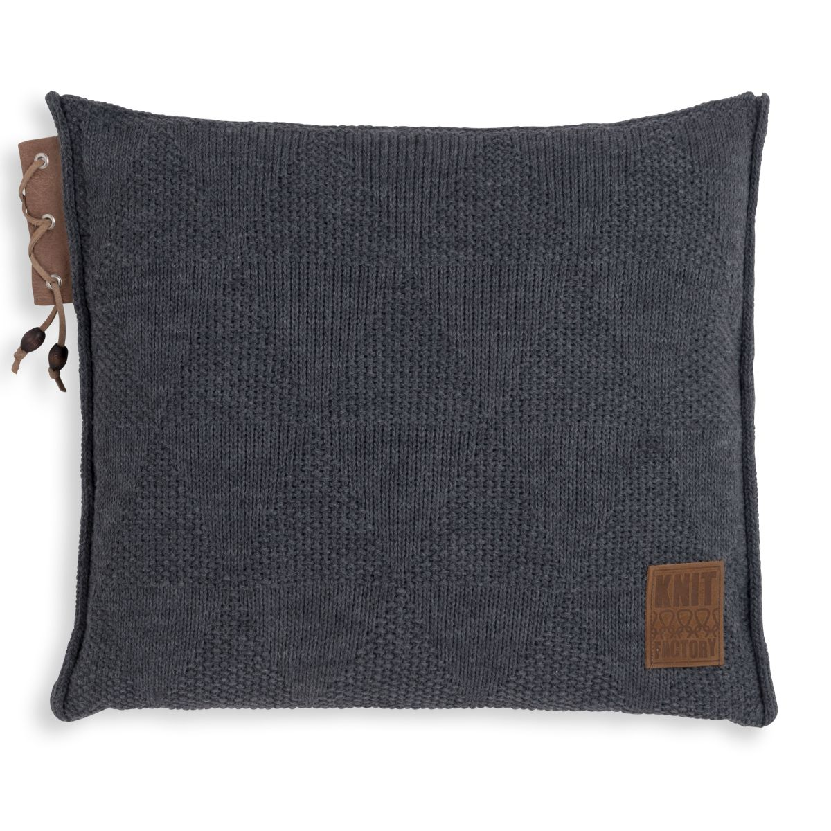 jay cushion anthracite 50x50