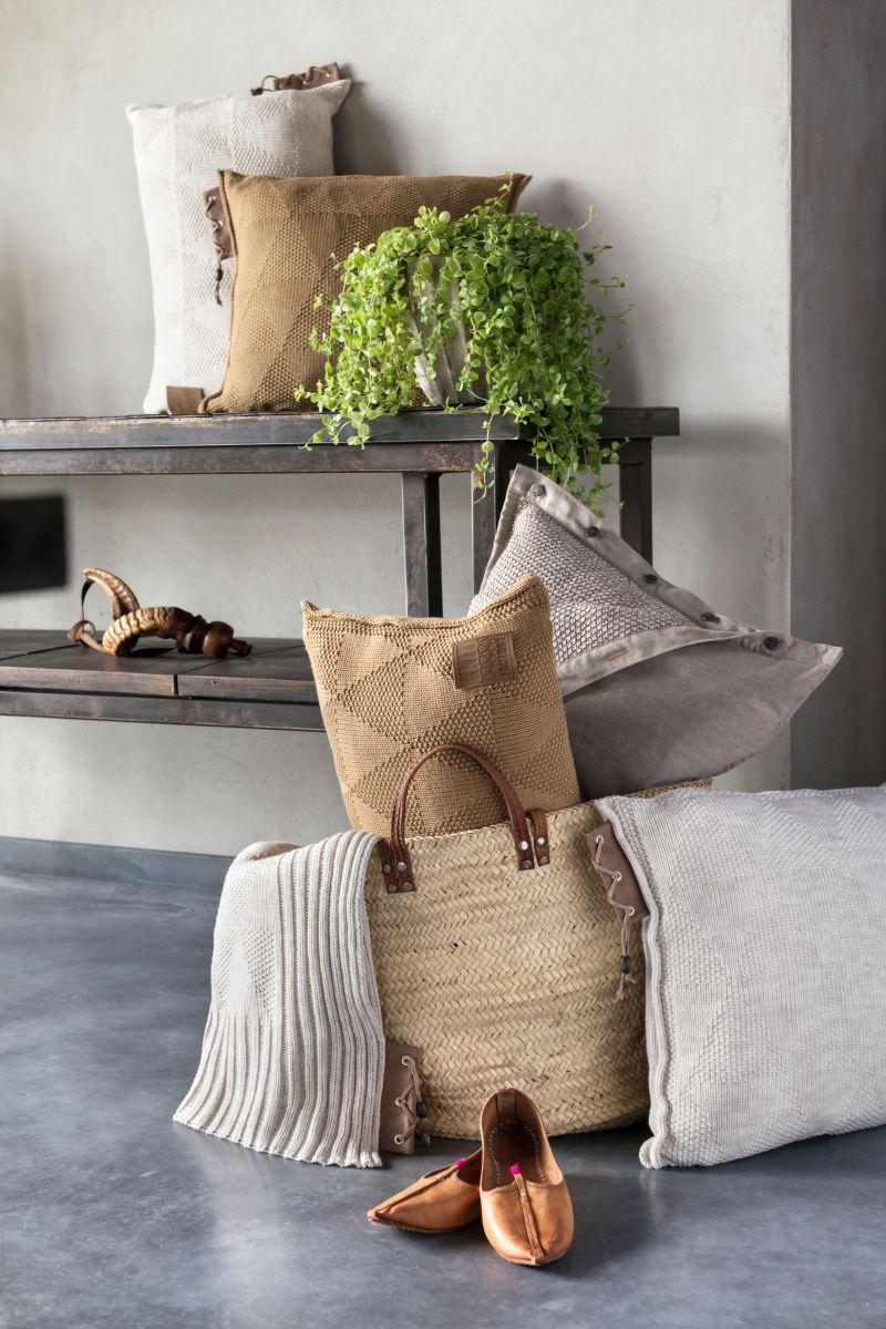 jay cushion beige 50x50