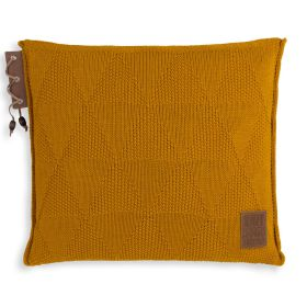Jay Cushion Ochre - 50x50