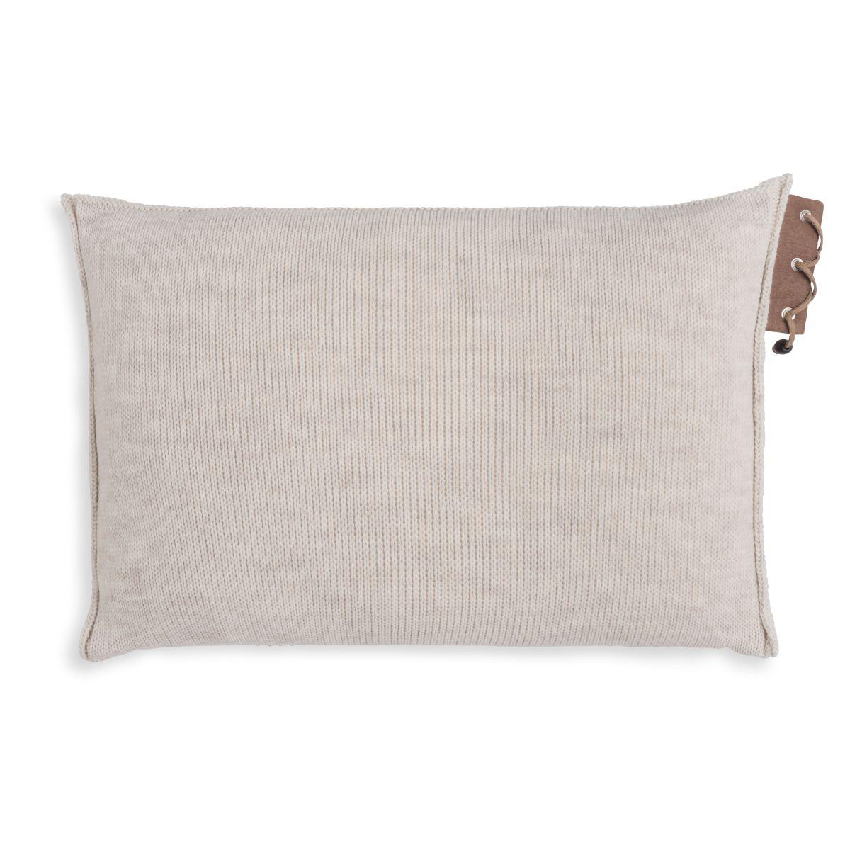 knit factory 1341312 jay kussen 60x40 beige 2