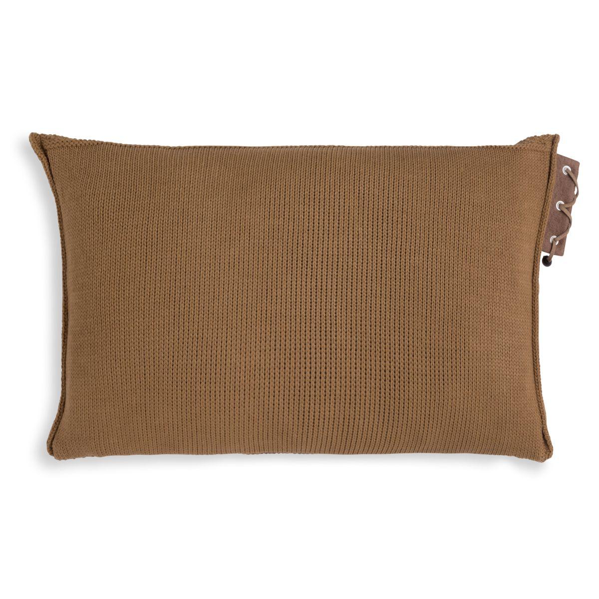 knit factory 1341320 jay kussen 60x40 new camel 2