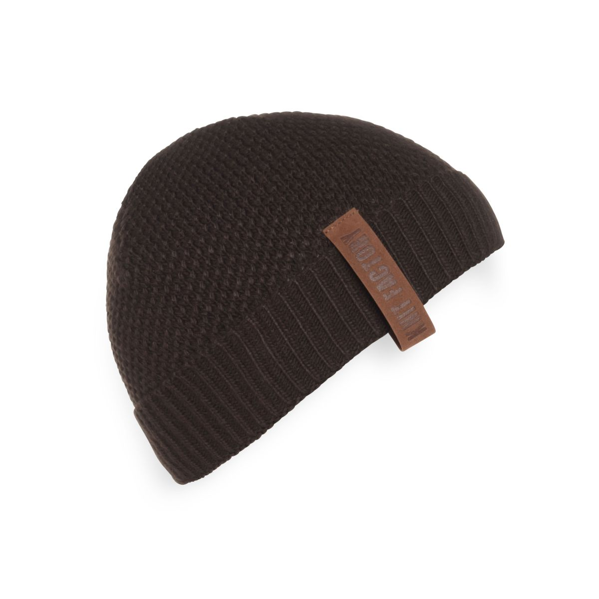 jazz beanie dark brown