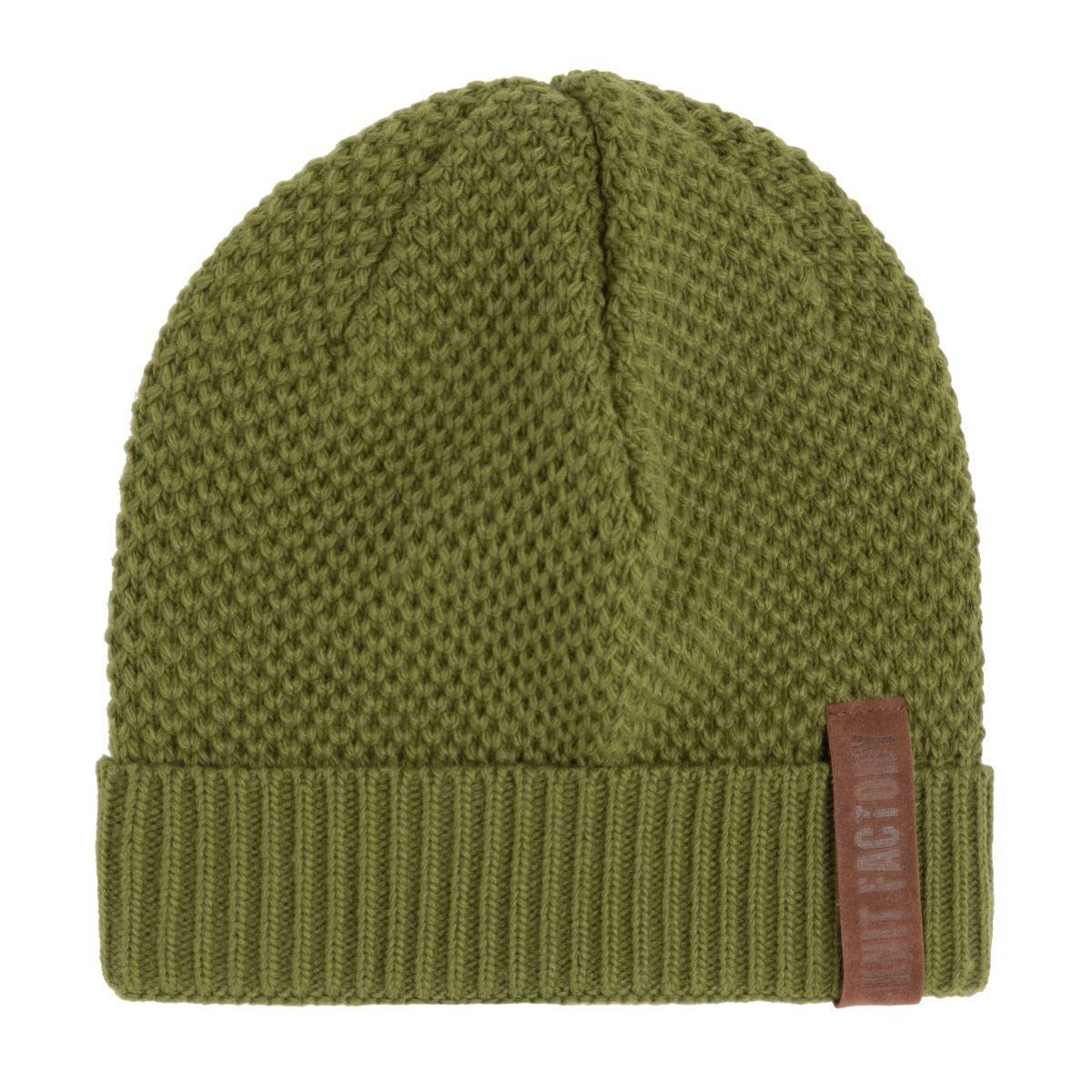 jazz beanie moss green