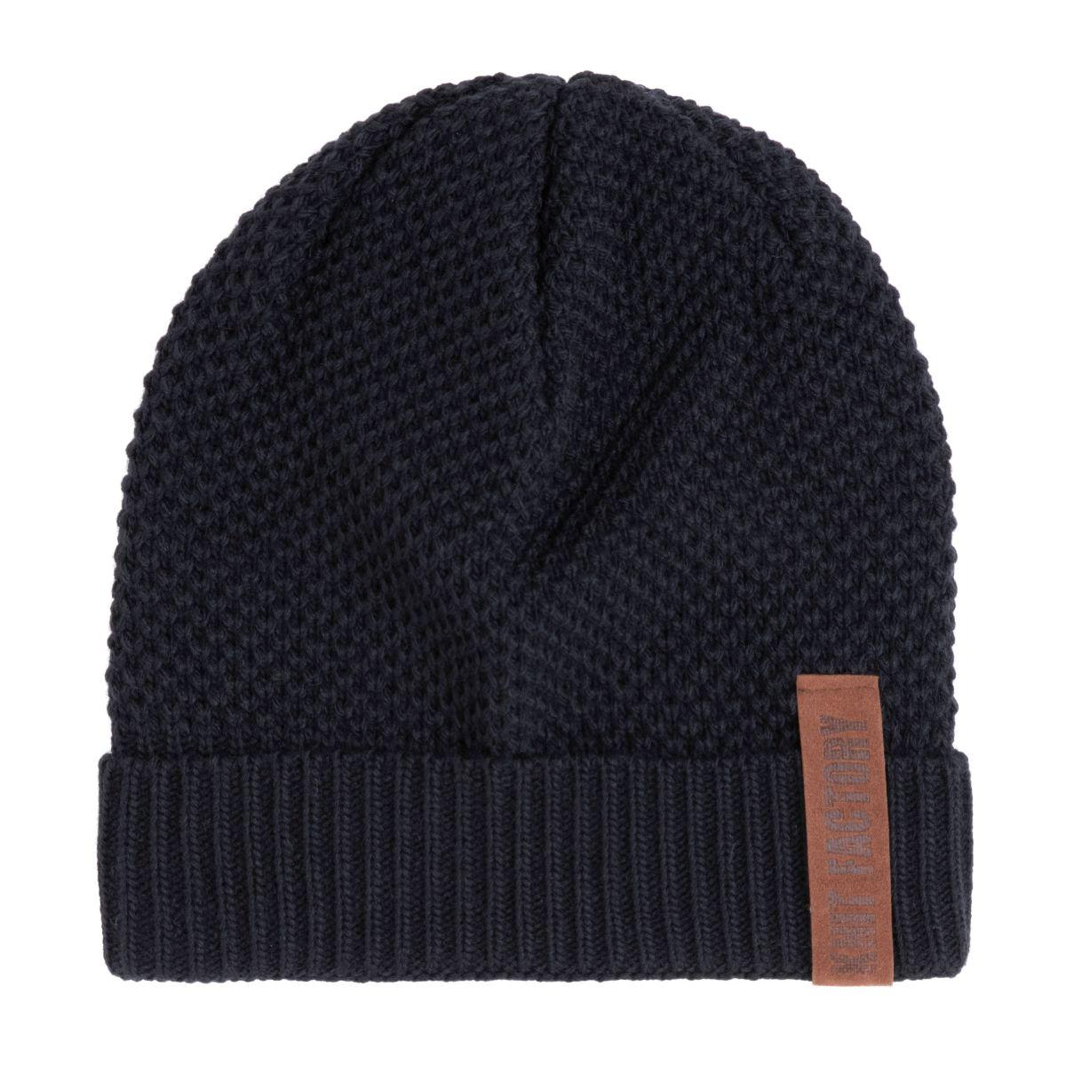 knit factory 1237026 jazz beanie navy 1