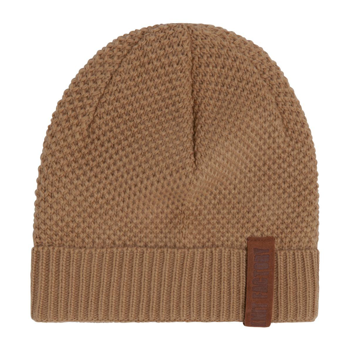 knit factory 1237020 jazz beanie new camel 1