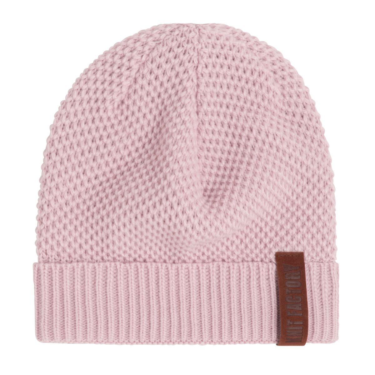 knit factory 1237021 jazz beanie roze 1