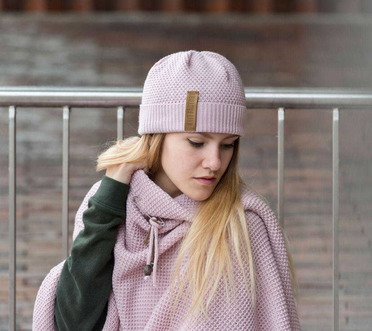 knit factory 1237021 jazz beanie roze 2