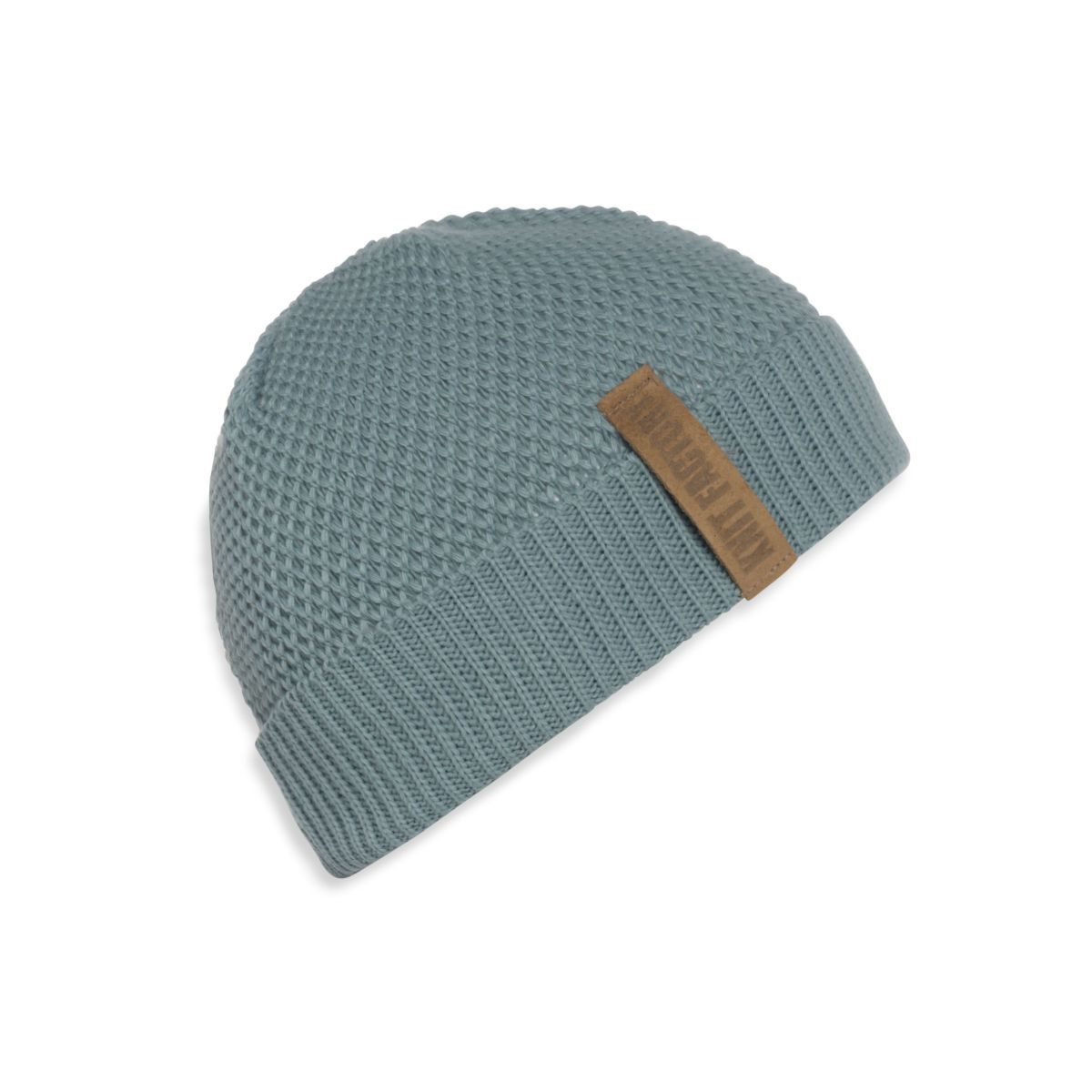 knit factory 1237009 jazz beanie stone green 1