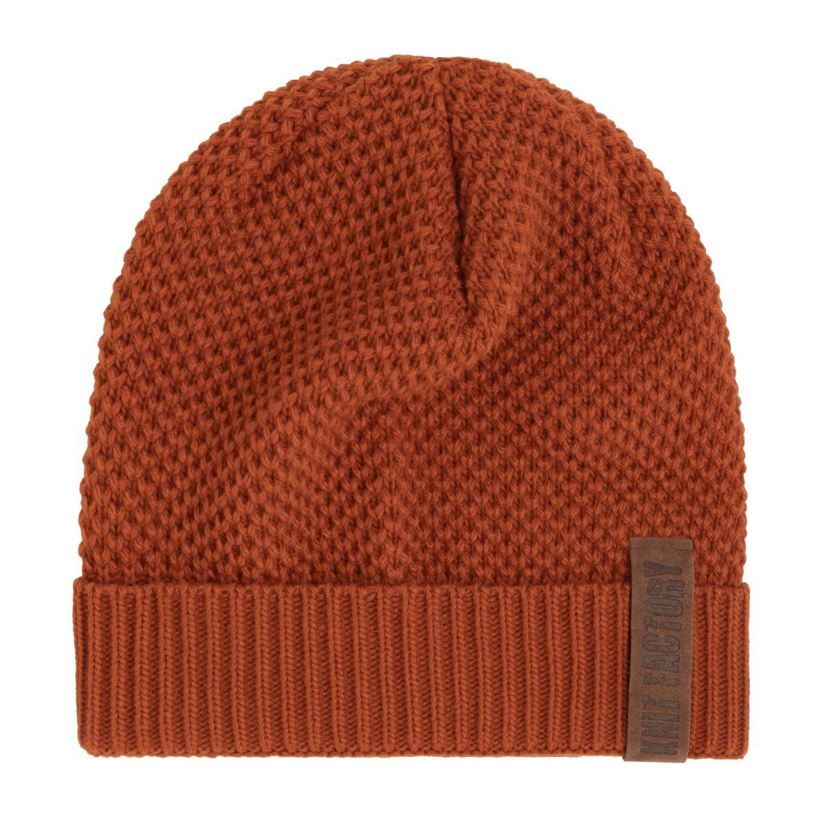 knit factory 1237016 jazz beanie terra 1
