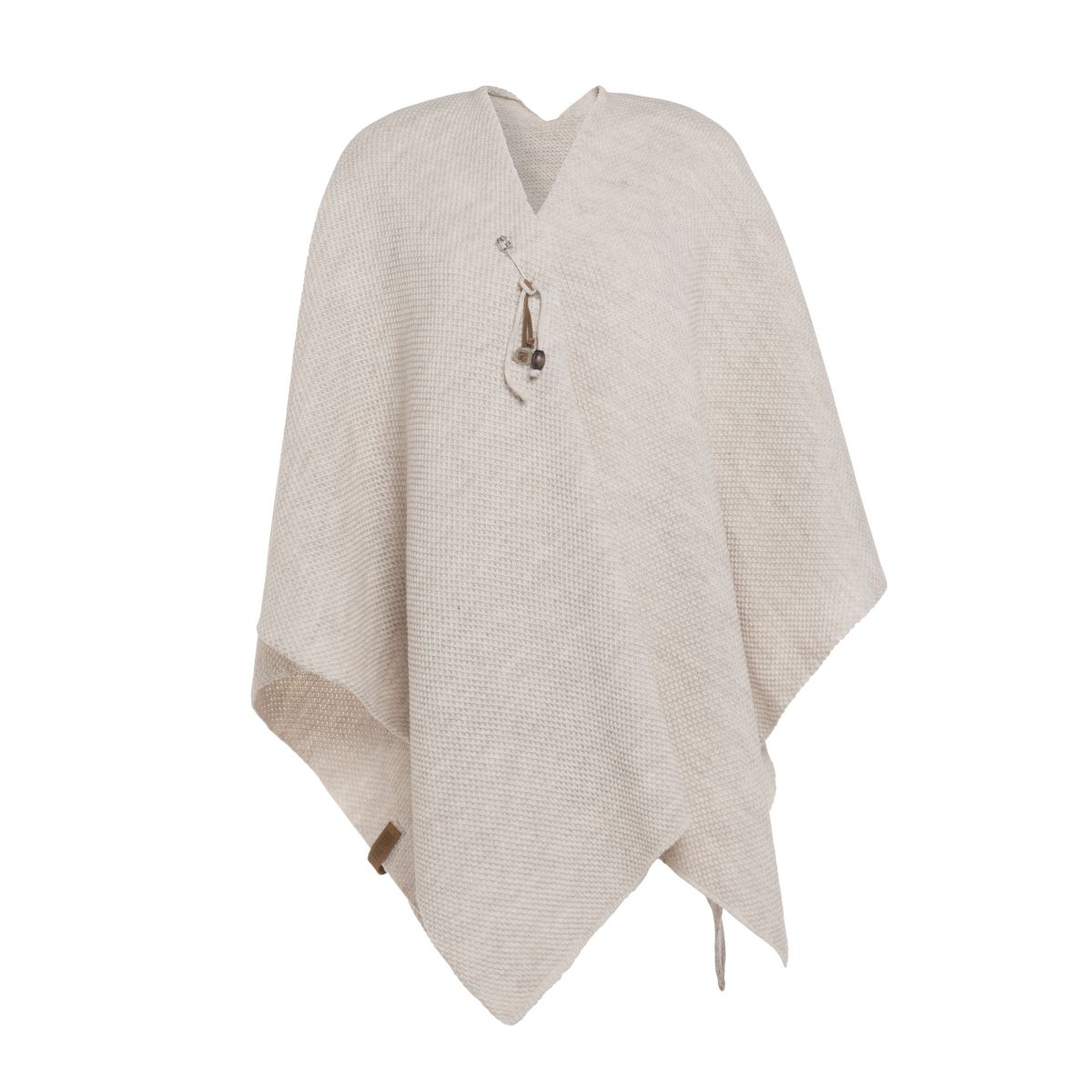 knit factory 1236112 jazz omslagvest beige 1