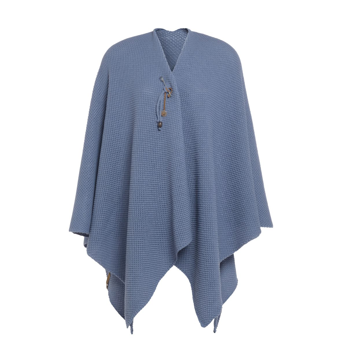 knit factory 1236132 jazz omslagvest indigo 1
