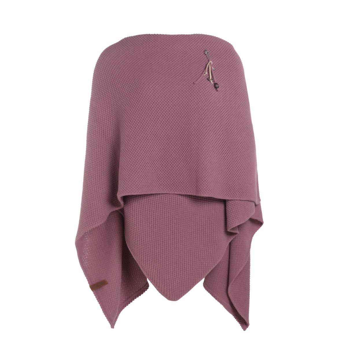 knit factory 1236127 jazz omslagvest lila 2