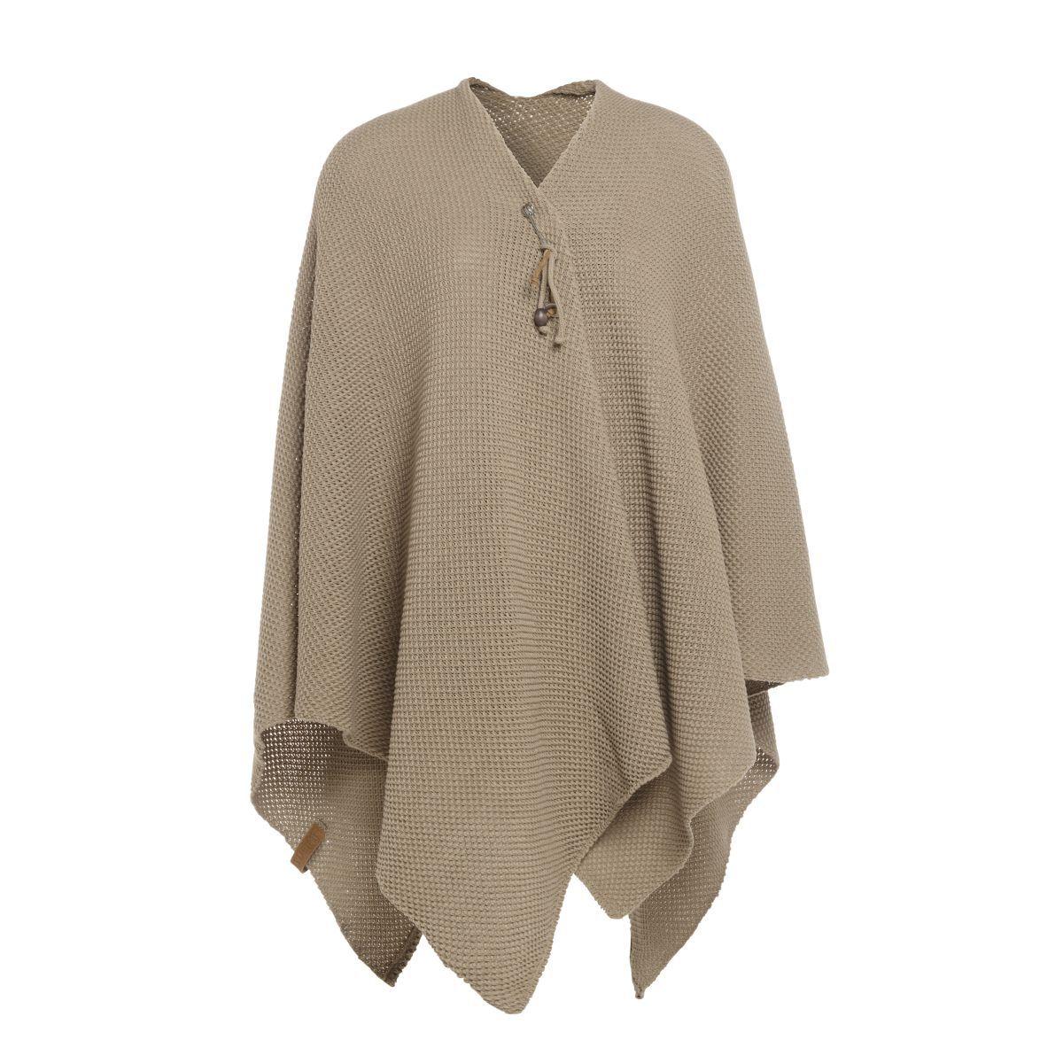 knit factory 1236133 jazz omslagvest olive 1