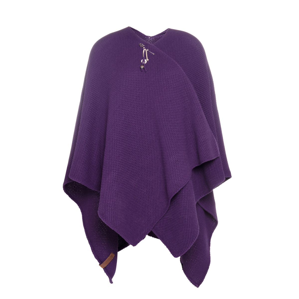 knit factory kf123061123 jazz omslagvest purple 1