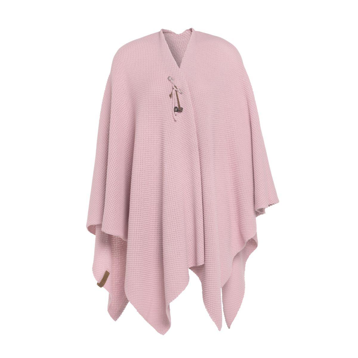 knit factory 1236121 jazz omslagvest roze 1