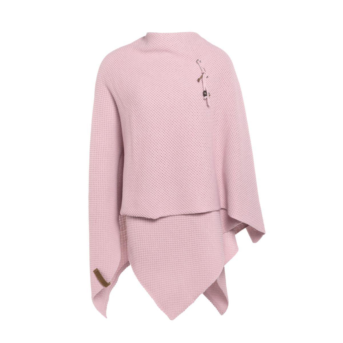 knit factory 1236121 jazz omslagvest roze 2