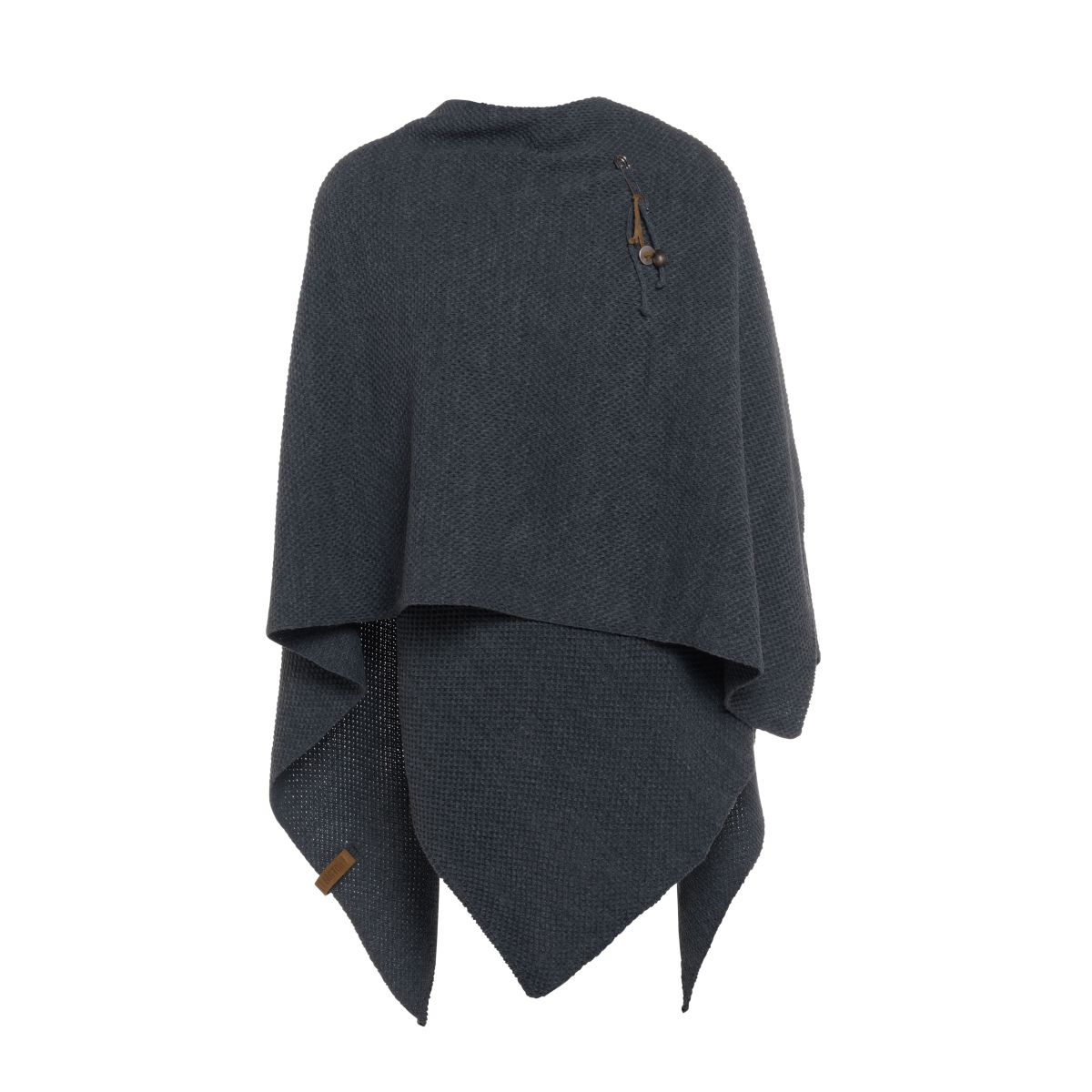 jazz poncho cape anthrazit