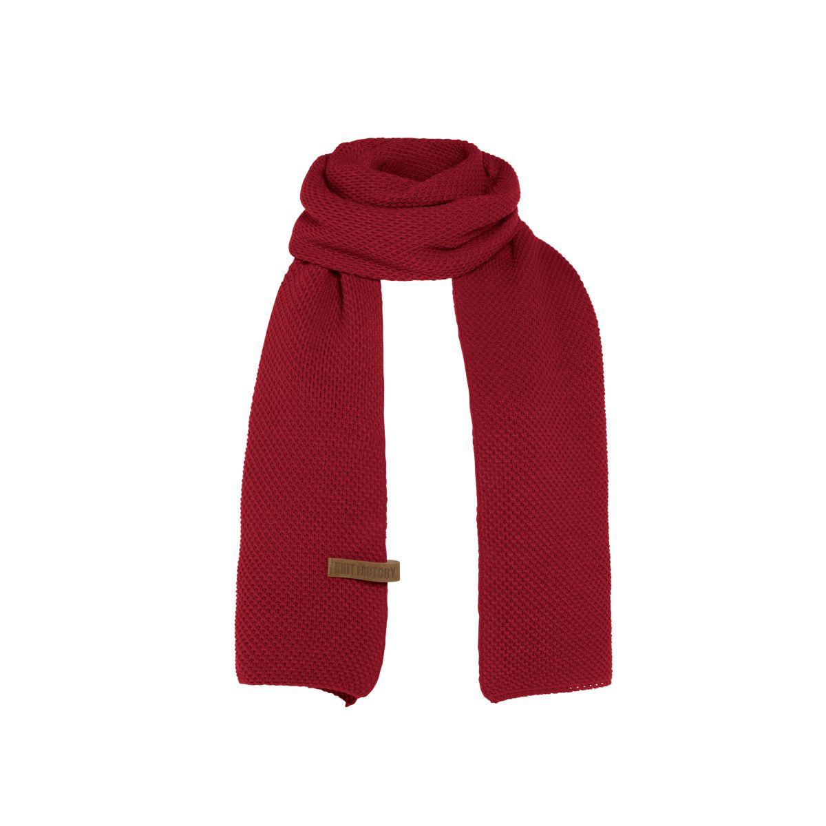 jazz scarf bordeaux