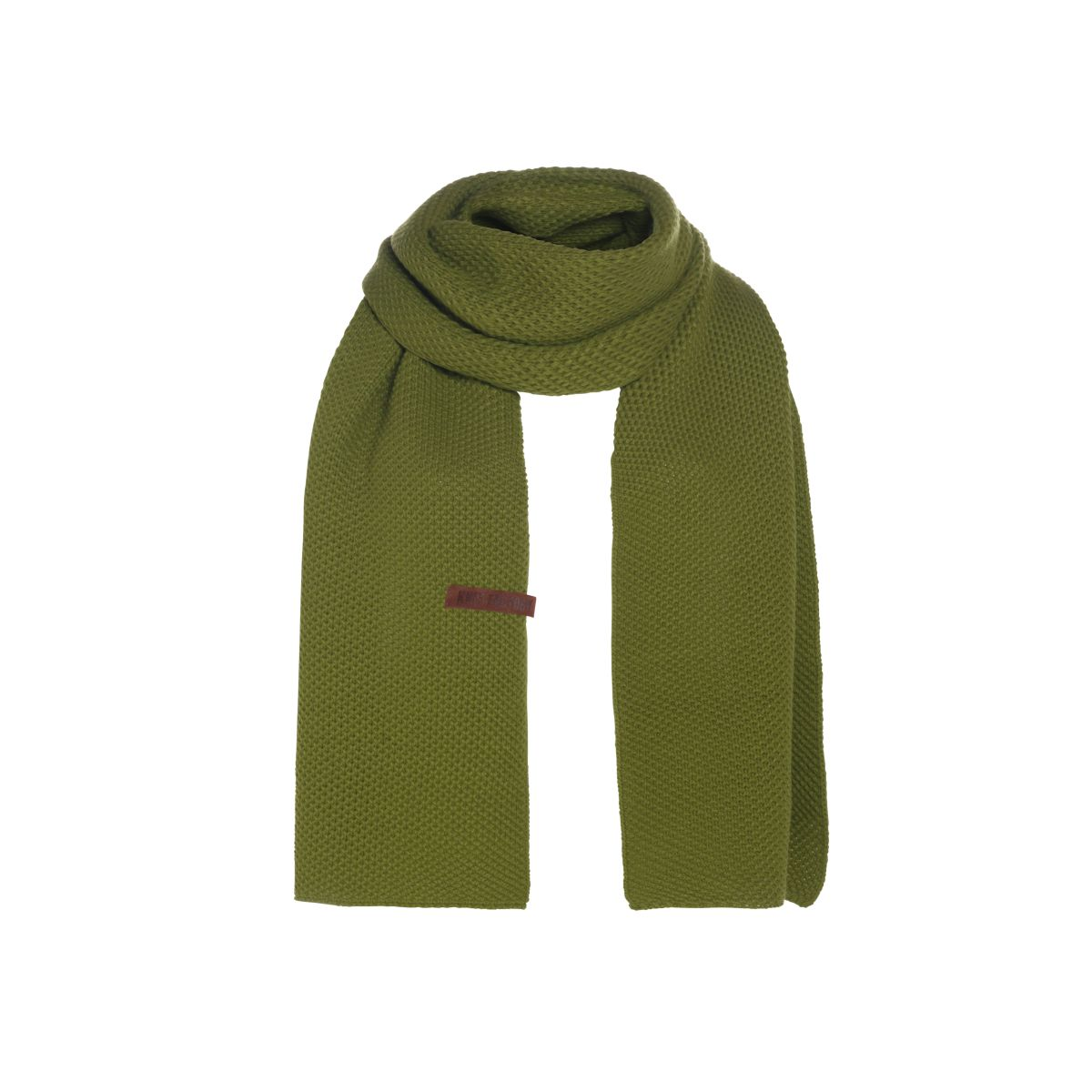 jazz scarf moss green