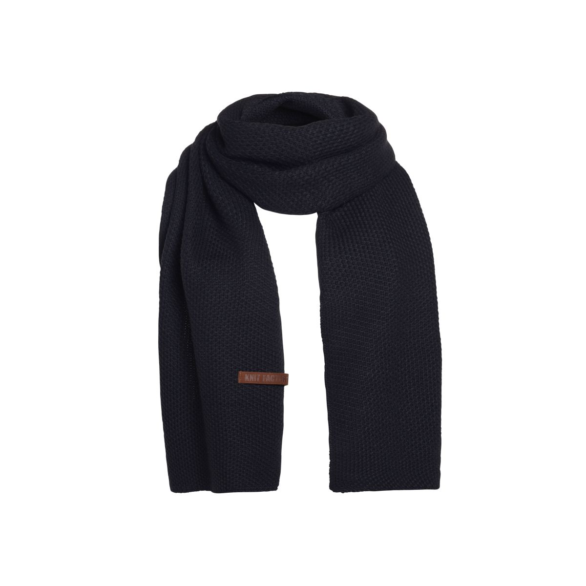 jazz scarf navy