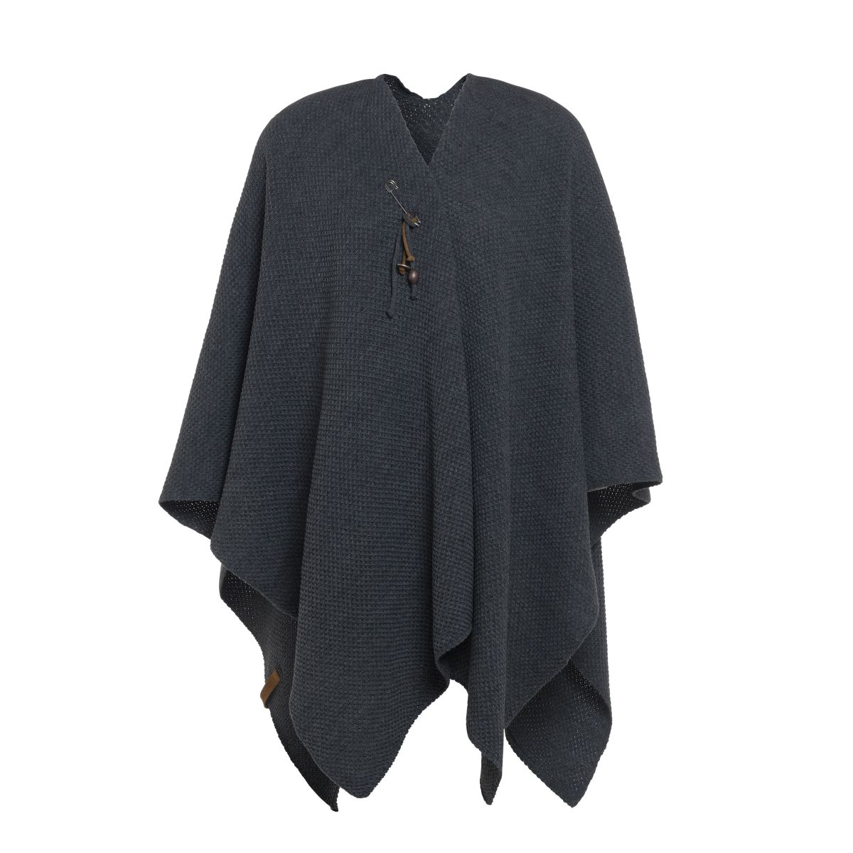 jazz shawl wrap anthracite