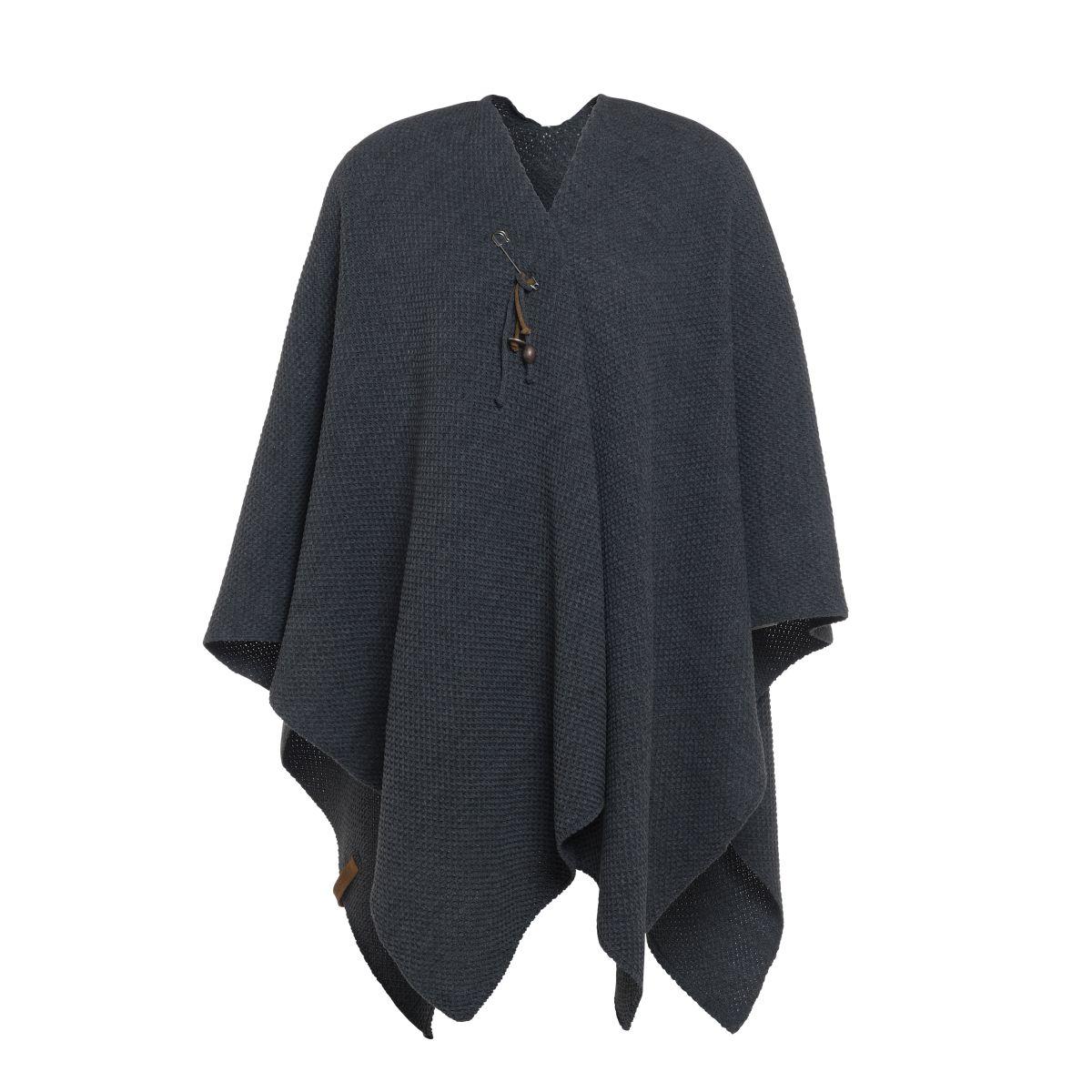 jazz shawl wrap anthracite