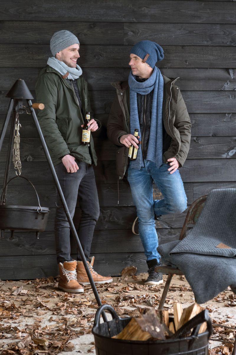 knit factory 1236554 jazz sjaal jeans indigo 2