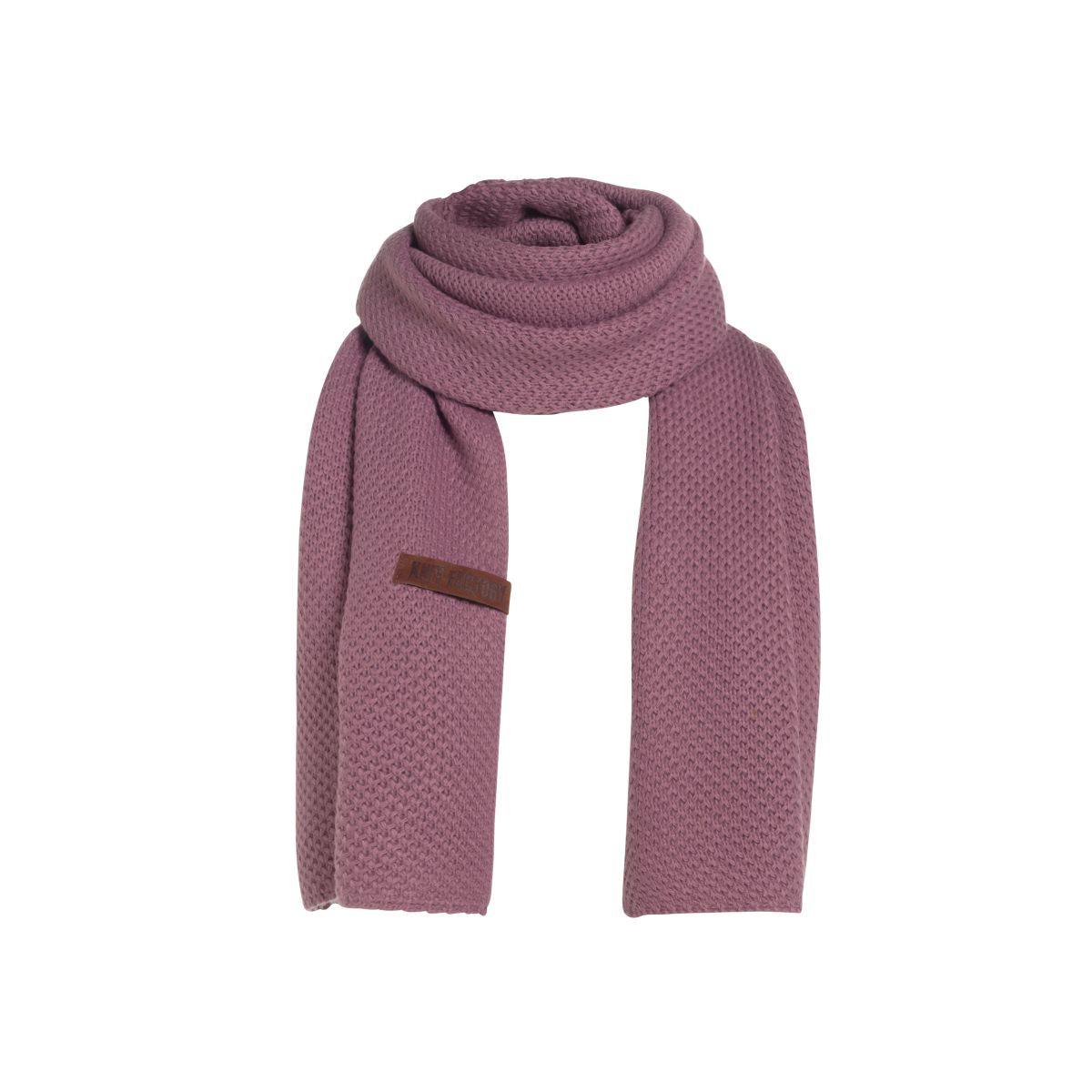 knit factory 1236527 jazz sjaal lila 1